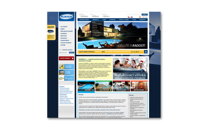 Albixon návrhy webů a microsite