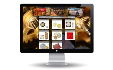 Aroja Design Návrh a realizace eshopu