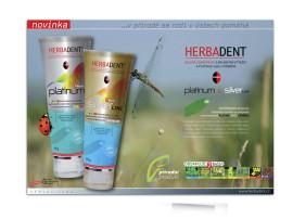 Herbadent - návrh inzerce